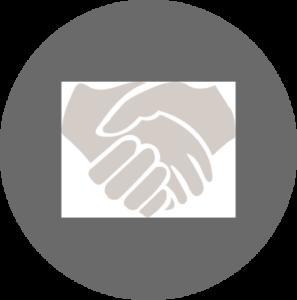 Vermittlung zwischen Verkäufer und Käufer